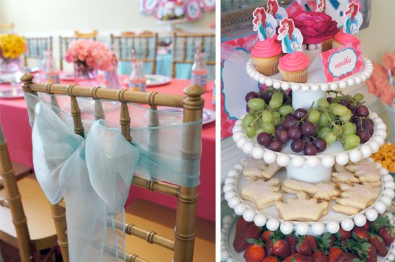 Amy's Party Ideas: {Real Parties I've Styled} Little Mermaid Tea Party