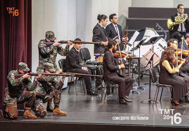 Representando la Batalla de Wellington, Concierto Beethoven TMT2016