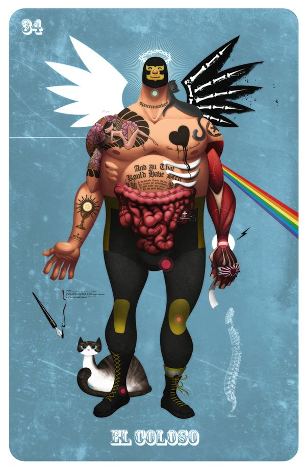 EL COLOSO by Alex Arizmendi, via Behance