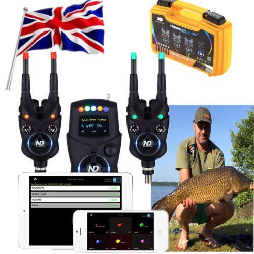 Nueva dirección frente a picadura de alarma 2 +1 juego para la pesca de la carpa