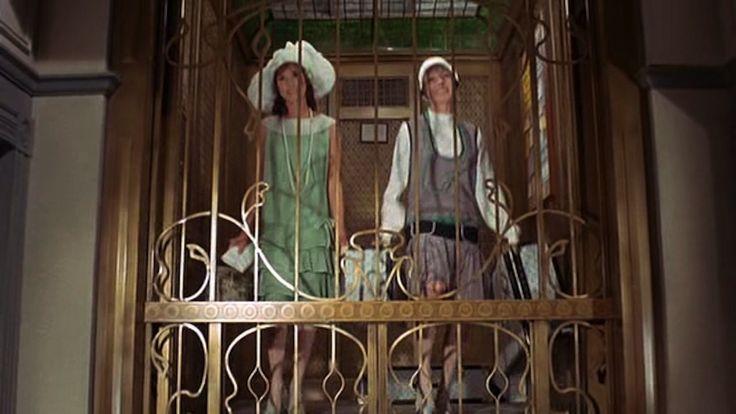 Elevator scene