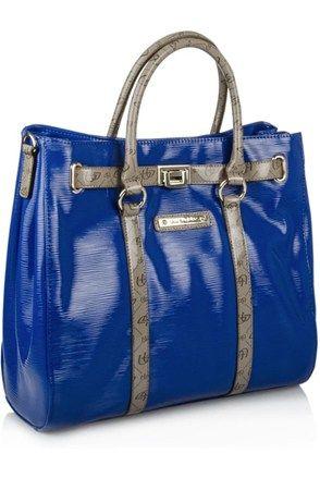 Τσάντα, μπλε
