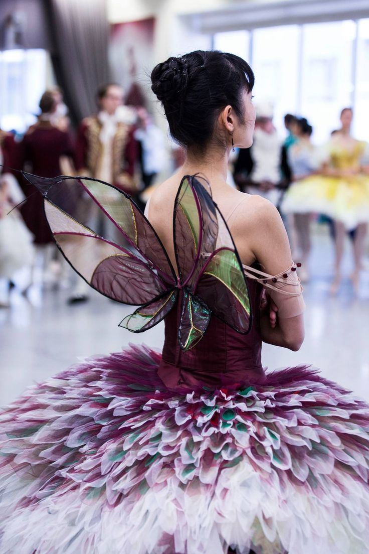 The Australian Ballet's Miwako Kubota as The Fairy of Temperament - Photography Kate Longley