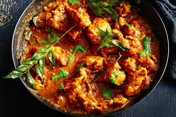 Ghee adds great flavour and doesn't burn when frying off the spices of this hearty chicken curry.