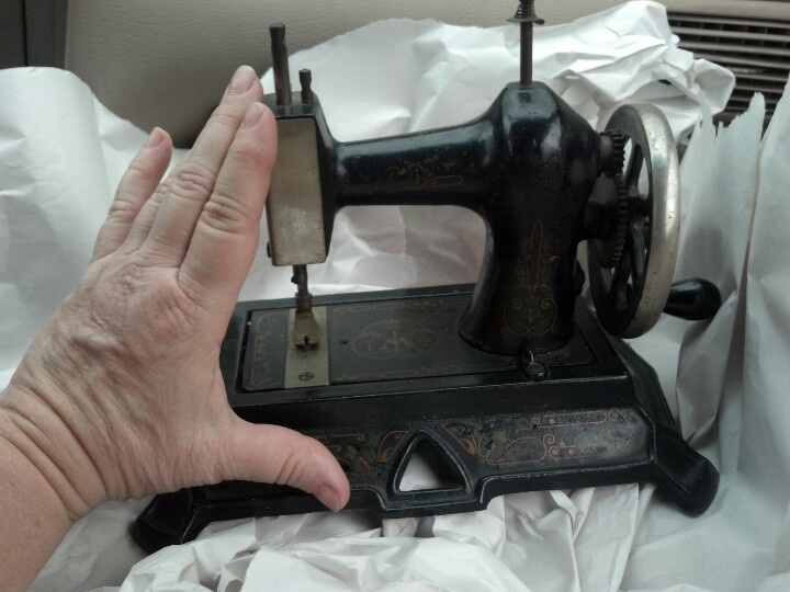 Tiny sewing machine for a tiny house!