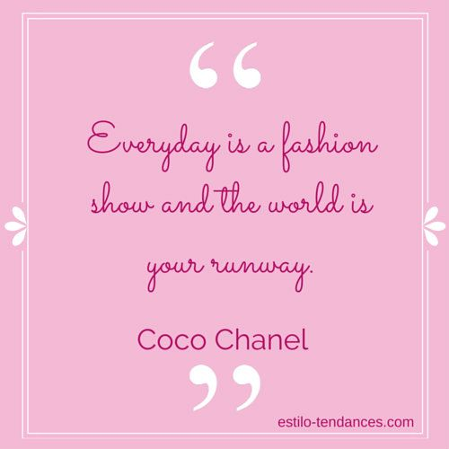 302 best Fashion Words of Wisdom images on Pinterest | Gossip ...