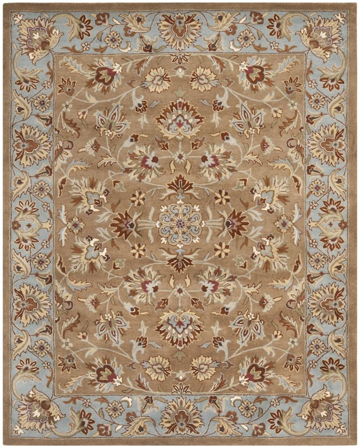 Safavieh Heritage Hg821a Beige Blue Area Rug 80586 Traditional