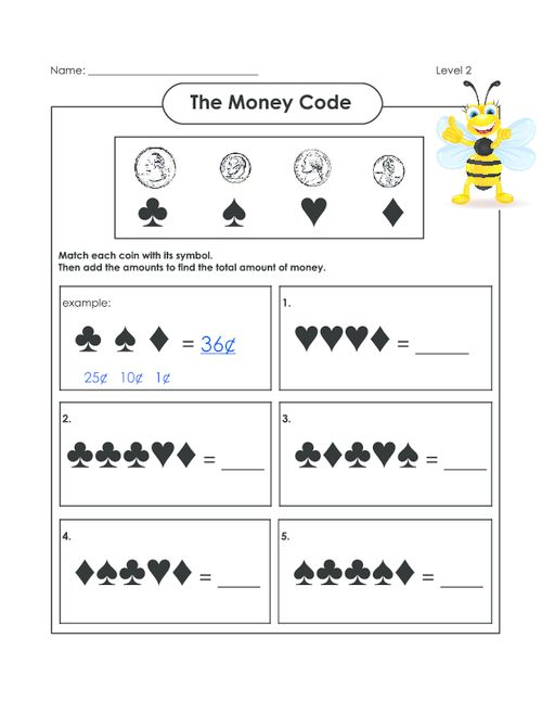 27 best money counting images on pinterest free printable worksheets math worksheets and. Black Bedroom Furniture Sets. Home Design Ideas