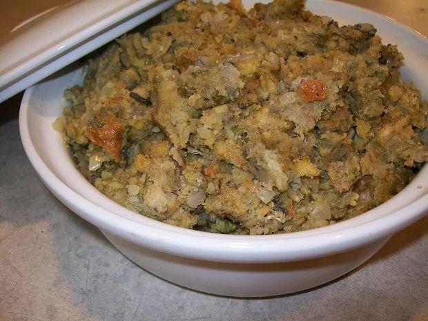 Crock-Pot Oyster Stuffing - Crock-Pot Ladies