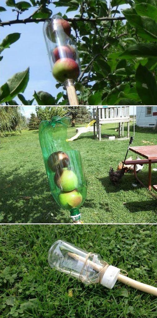 Ağaçtan Basit Meyve Toplama Aparatı Yapımı-DIY ~ Yeşil Parmak