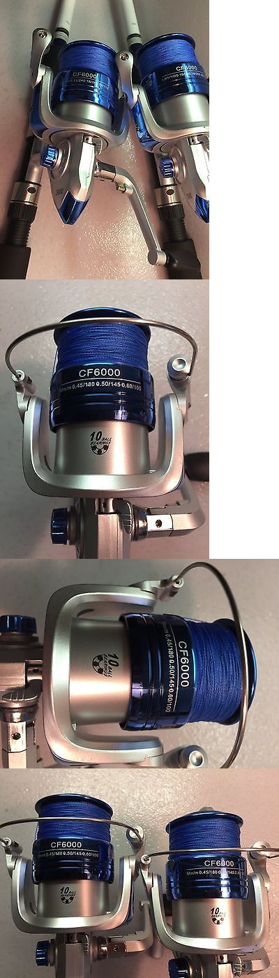 Saltwater Combos 179959: Two Okuma Tundra 8' Surf Spinning Rod And Cf6000 Spinning Reel Combo -> BUY IT NOW ONLY: $150 on eBay!