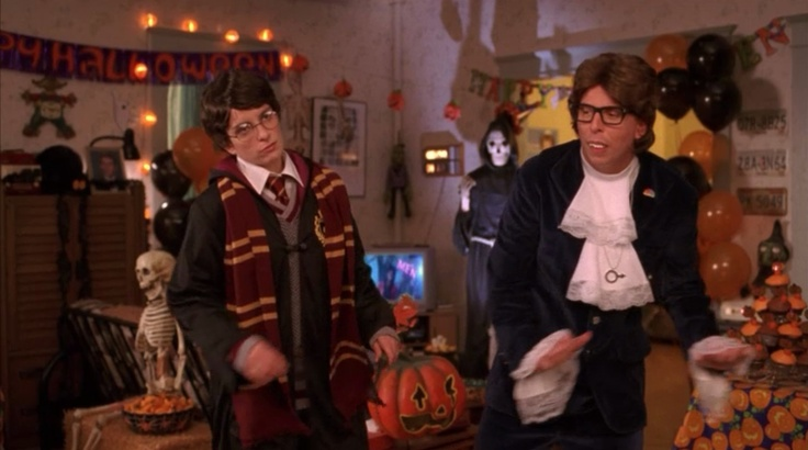30 Rock / Halloween / Kenneth Parcell / Liz Lemon / Harry Potter / Austin Powers / Halloween Costume