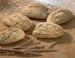 Ψωμί με αλεύρι ζέας (Triticum Dicoccum)