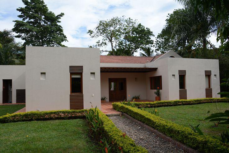 Diseño Alvaro Galindo Vacha Casa Recreo Acceso Principal