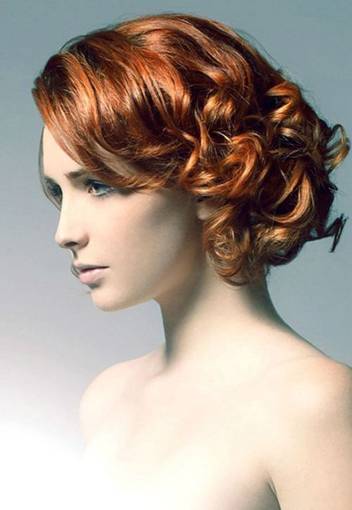 27 best Curly Hairstyles images on Pinterest | Hairdos, Short ...