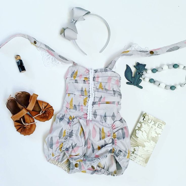 How cute is this romper with the ruched front and bloomers and shirred back? ✈️