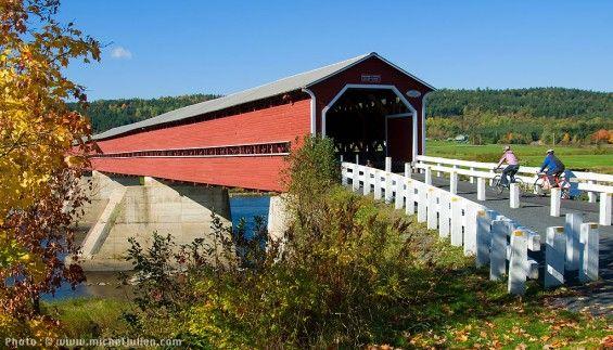 Les plus beaux ponts couverts du Québec