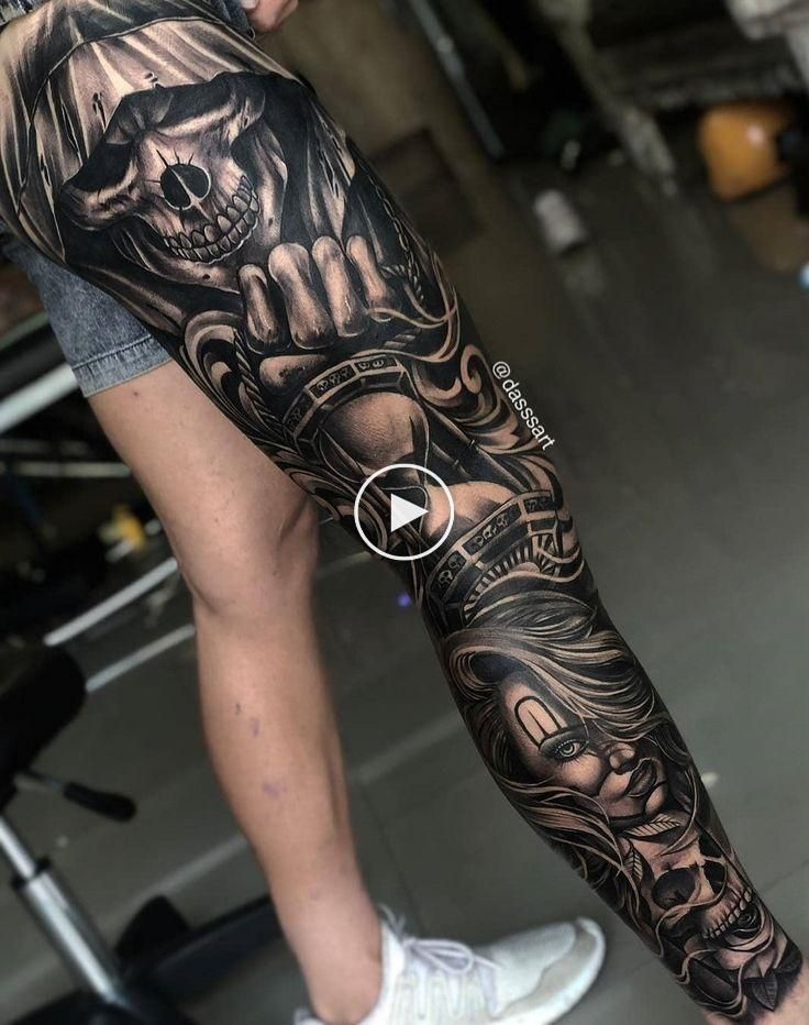 55 Male Leg Tattoo Ideas Pictures And Tattoos Leg Tattoo Men Full Leg Tattoos Leg Tattoos