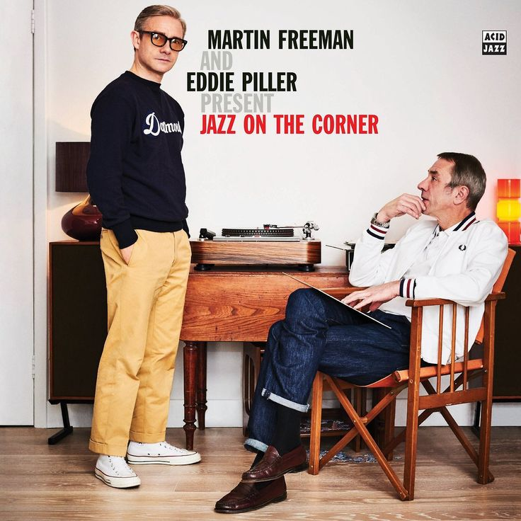 """rominatrix: """"""""When Eddie Piller asked Martin Freeman (The Hobbit, Sherlock, The Office) to do a jazz radio show they could hardly imagine the response. Now, two years on this compilation of their..."""