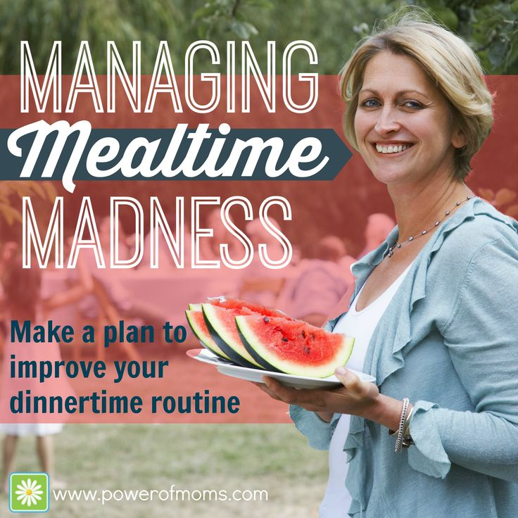 MANAGING MEALTIME MADNESS:  I prioritize family dinner because I want to have a space in the day when my family can come together and be nourished both physically and emotionally. It's rarely calm and controlled, never clean or quiet, but I'm happy to say that, for the most part, my dinnertime plan is working--for everyone. Here's how it goes down at my house.