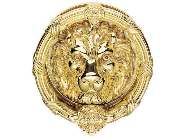 Carlisle Brass FG8XL Georgian - Lion Head Door Knocker (Ornate) #CarlisleBrass