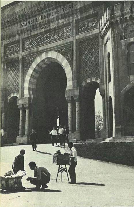 İstanbul Universitesi, 1964 #istanbul #armanca