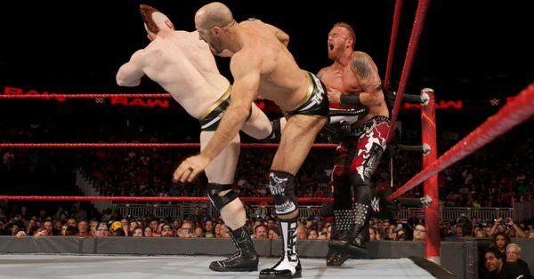 Sheamus and Cesaro vs. Heath Slater and Rhyno