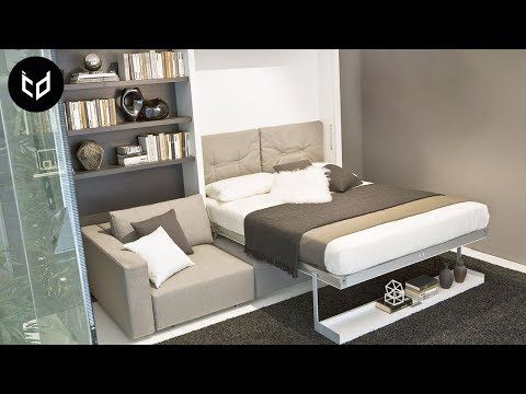 Incredible Space Saving Furniture Murphy Bed Ideas Part 2 Youtube House Beds Murphy Bed Couch Murphy Bed
