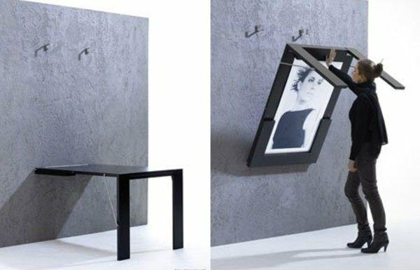 Wandklapptische – klappbare Holztische für kleine Räume -