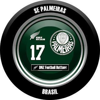 DNZ Football Buttons: SE Palmeiras