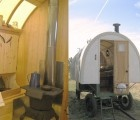 Sheep Wagons Converted into Rustic (and Adorable) Mobile Living Spaces