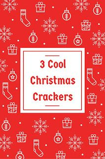 Smart Working is Hard Working: Red and White Christmas Crackers
