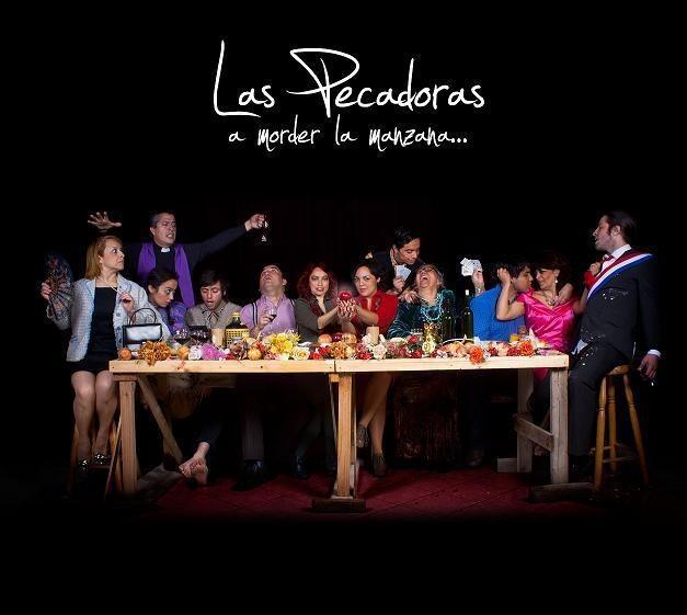 "Direccion de Arte portada disco ""A morder la manzana"" La Pecadoras. fotografia: Sebastian Venegas."