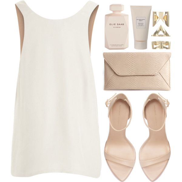 Annalise by aztec-rose on Polyvore featuring Chloé, Zara, sass & bide, Burberry and Elie Saab