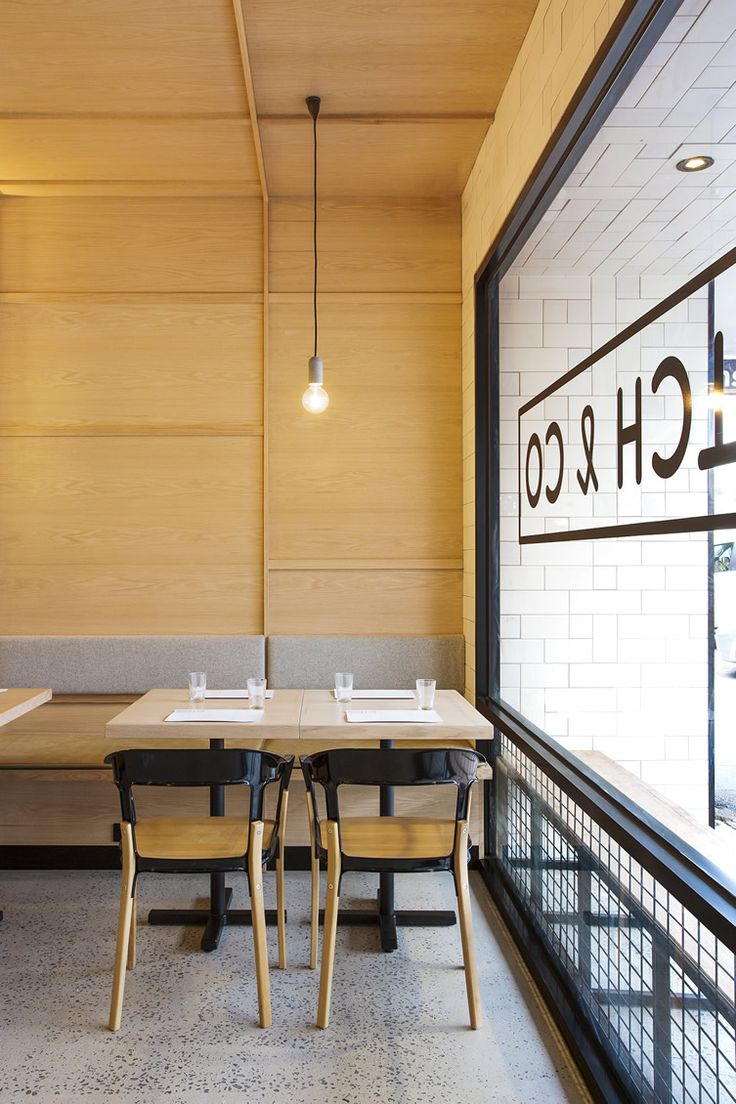 Yarra Valley restaurant Hutch & Co. looks to hardware store heritage for inspiration...