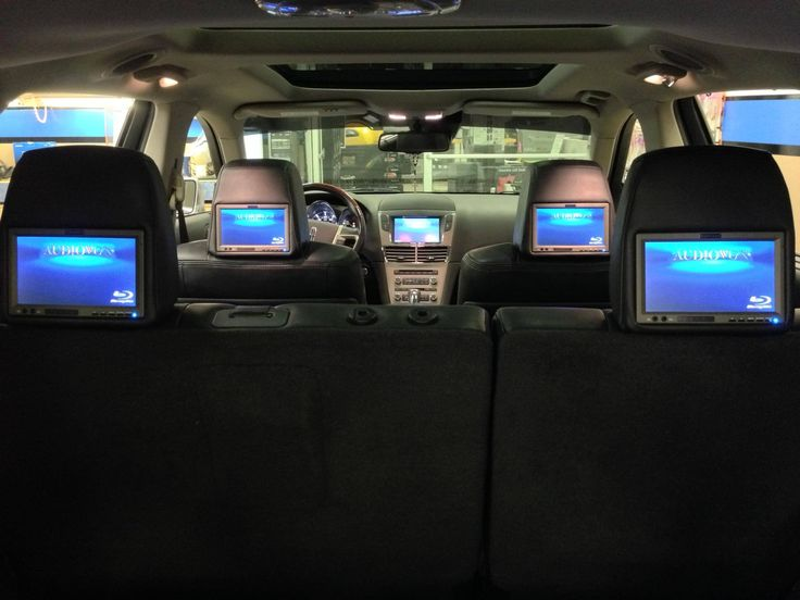Are you looking forward to your next long family road trip and that moment when the kids get bored and anxious? If not, then maybe it's time to consider a new video entertainment system for your vehicle! We have several options of rear seat entertainment systems from which to choose, including vehicle-specific, custom matched video headrest systems. If your family could benefit from some rear seat entertainment for your next road trip, then call or stop by any of our locations to learn more.