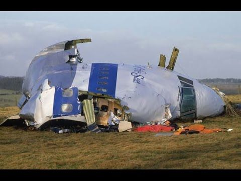 Pan Am Flight 103 Re-creation - YouTube
