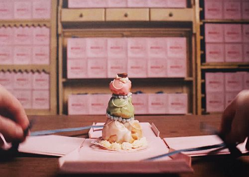 Mendl's  The Grand Budapest Hotel by Wes Anderson