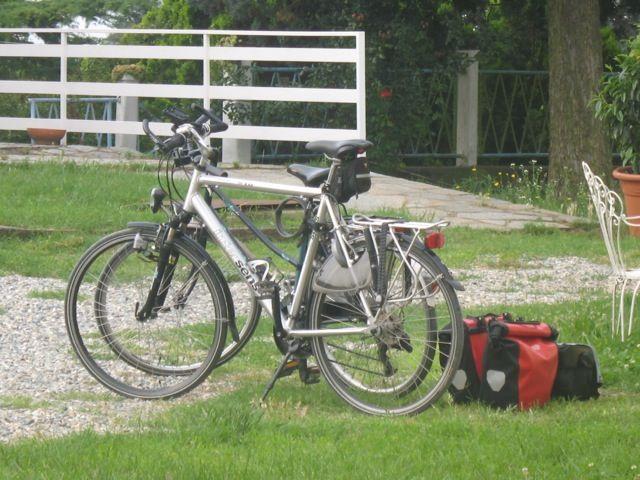 bici pronte ... si parte