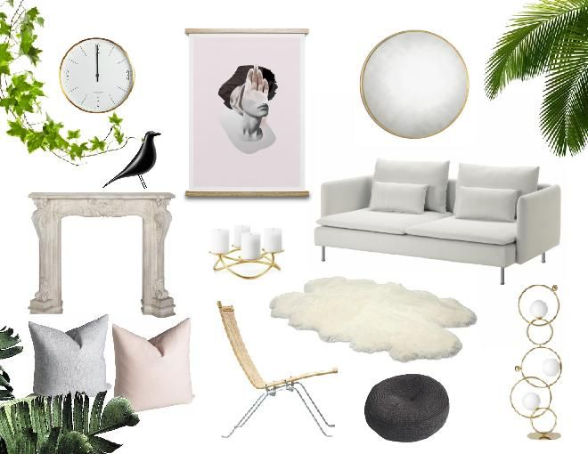 Design Concept Made With Sampleboard A Cloud Based Mood Board Editing Software In The Contemporary Living Room Design Interior Design Boards Trending Decor