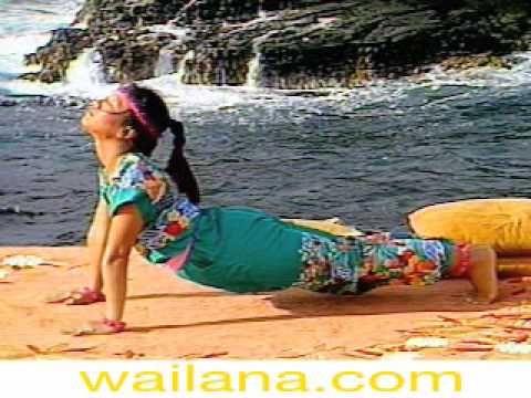 Wai Lana teaches Stretching Dog in her Wai Lana Yoga Series