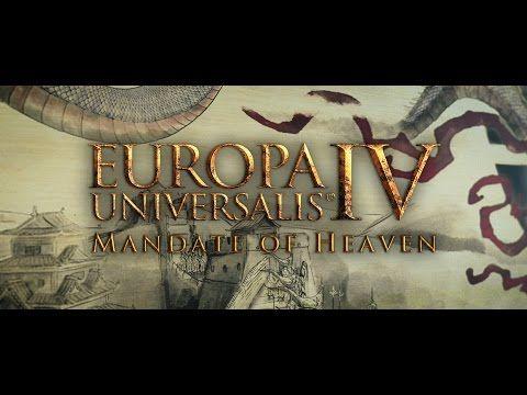 The Man Cave: Europa Universalis IV: Mandate of Heaven Announced...
