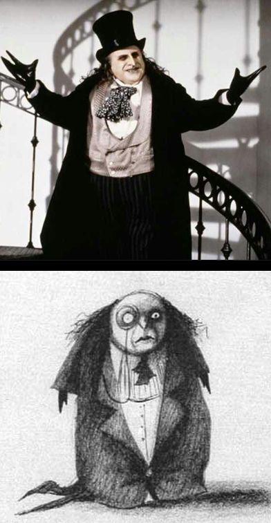 Danny DeVito as The Penguin in Tim Burton's 'Batman Returns' (1992). Costume Designer: Bob Ringwood