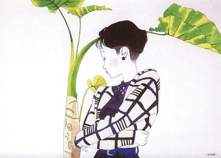 Seiichi Hayashi's Pretty Illustrations of Modern Young Women