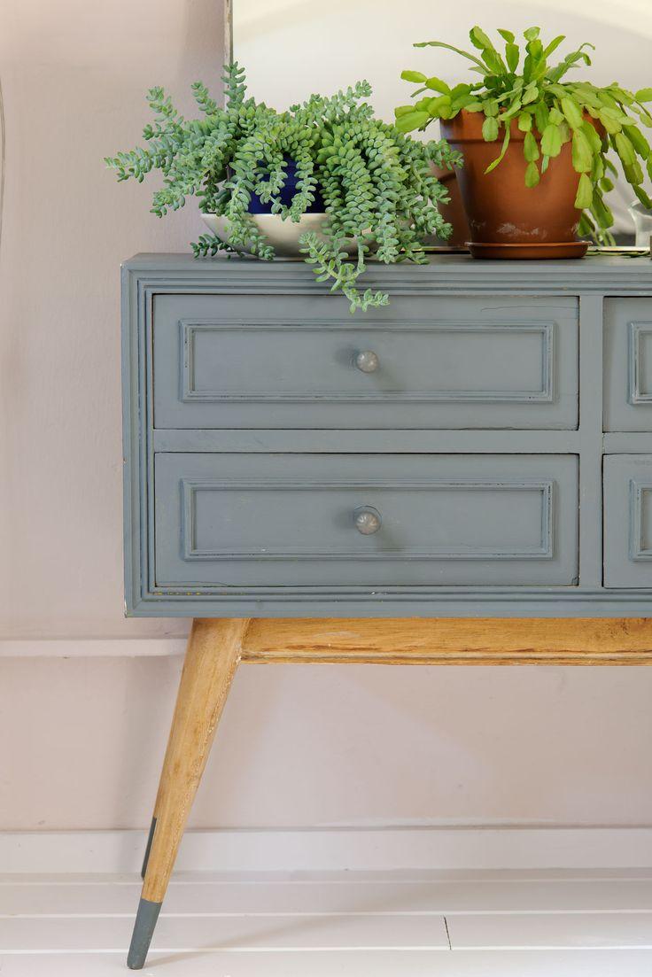 17 mejores ideas sobre aparador gris en pinterest for Muebles pintados en blanco y gris