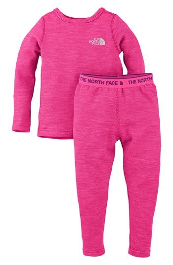 The North Face 'Base Layer' Tee & Leggings (Toddler Girls) available at #Nordstrom