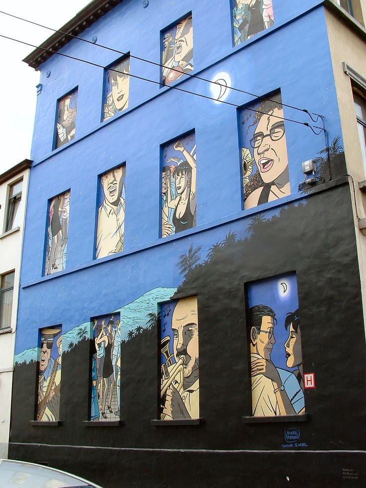 Street art, Brussels, Belgium, BXL Zippertravel.com Digital Edition