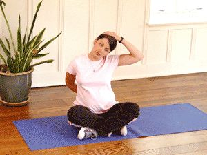 Pregnancy Stretching Routine
