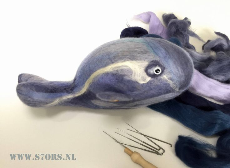 Super soft needle felted blue whale, made out of 100% european wool by S7oRs on Etsy https://www.etsy.com/listing/527634157/super-soft-needle-felted-blue-whale-made