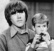 "Steven Stayner with Timmy White - Focus of the book, ""I know my name is   Steven"""